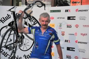 Krzysztof Wiktorowski odbiera nagrodę główną