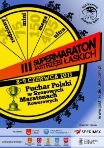 III Supermaraton Jastrzębi Łaskich - plakat