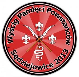 Wyścig Pamięci Powstańców - Sędziejowice 2013